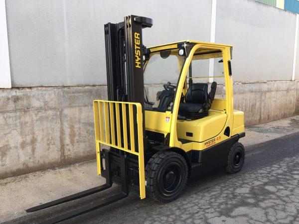 Carretilla diesel HYSTER H2.0 .